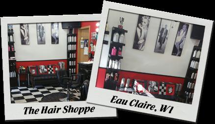 Hair Salon polaroids
